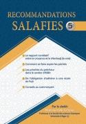 Série de RECOMMANDATIONS SALAFIES 5